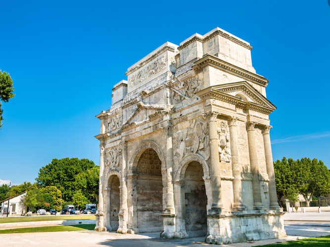 Orange - Arc de Triomphe